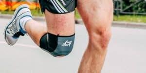 dor no joelho durante a corrida
